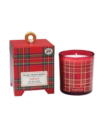 Michel Design Works Tartan 6.5 oz. Soy Wax Candle