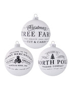 "5"" Holiday Ball Ornament"