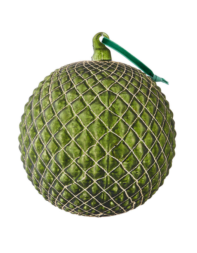 """6"""" Quilted Ball Ornament"""