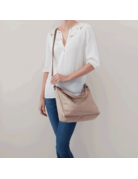 Delilah Shoulder Bag (Met-Rosed)