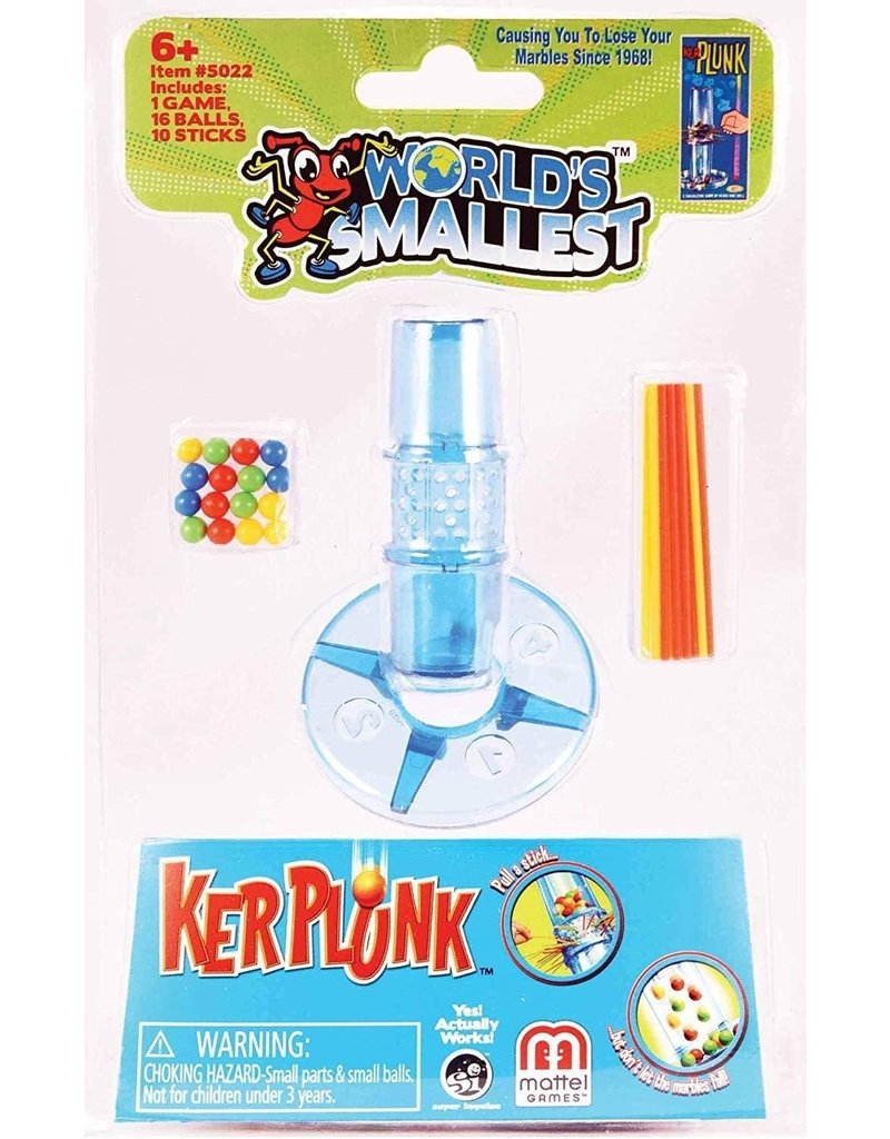 Super Impulse USA World's Smallest Kerplunk Game
