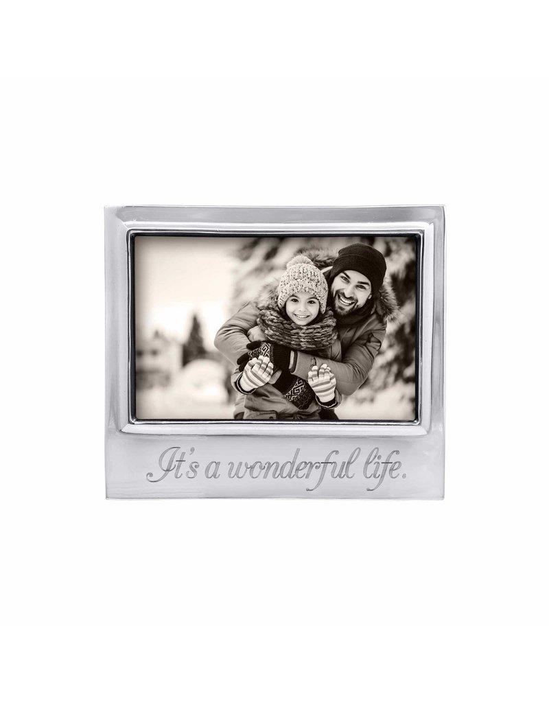 4300WL Its a Wonderful Life Signature Frame 4x6