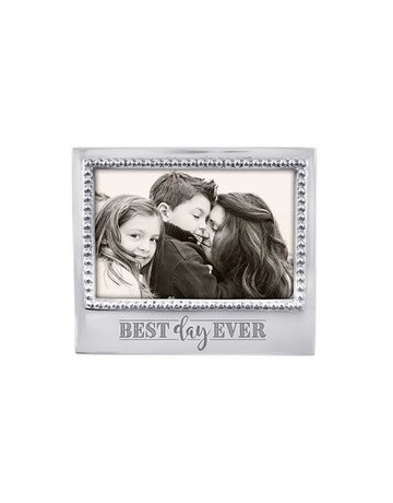 3906DE Best Day Ever Beaded 4x6 Frame