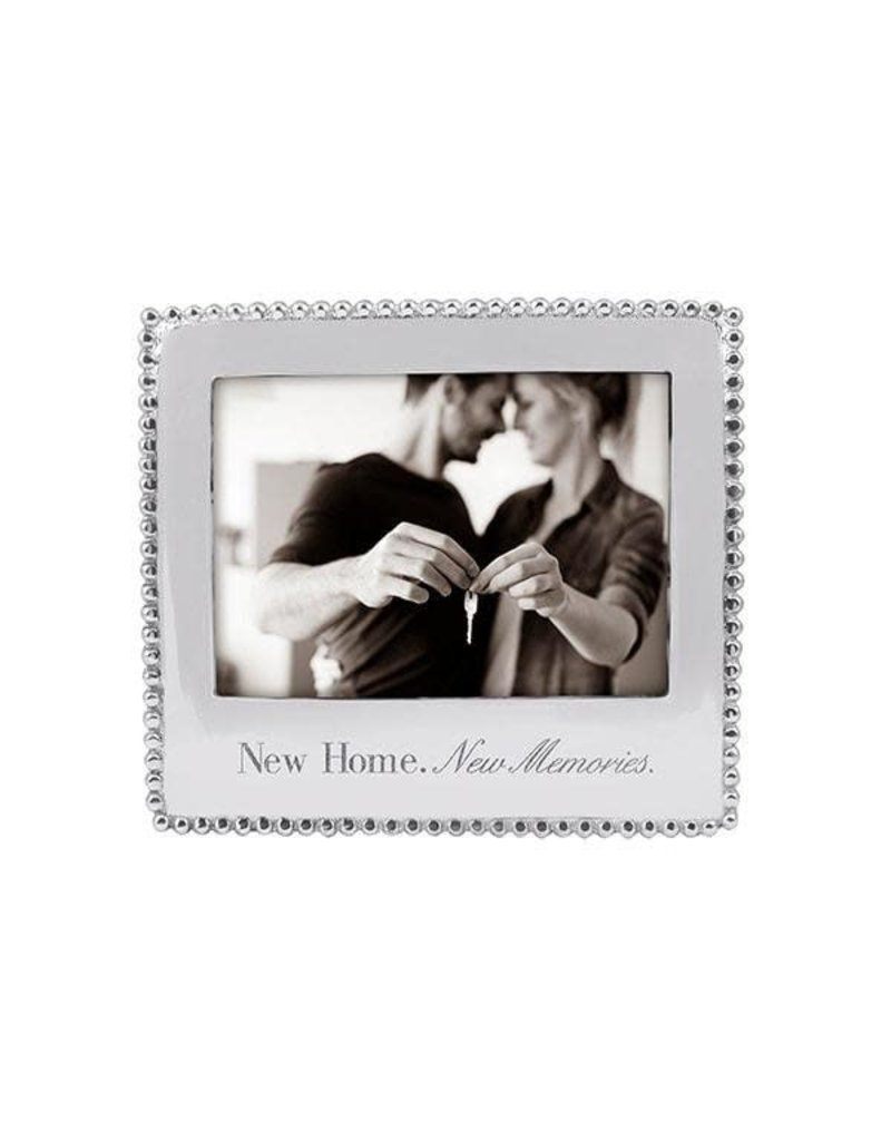 3911NH New Home New Memories Beaded 5x7 Frame