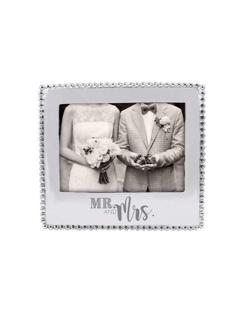 3911MRM Mr.& Mrs.Beaded 5x7 Frame