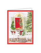 Open Gate And Wreath Boxed Cards