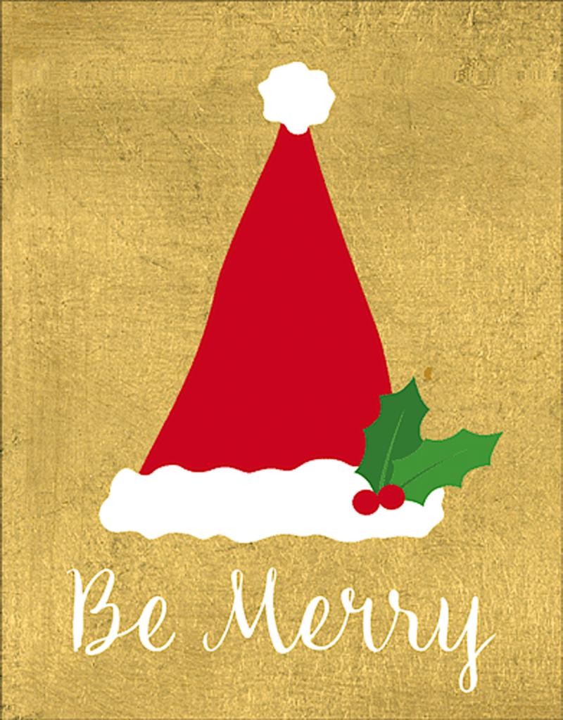 Christmas Card Box Be Merry