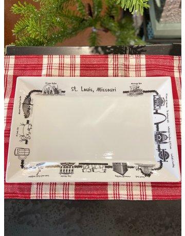 St. Louis Rect. Platter