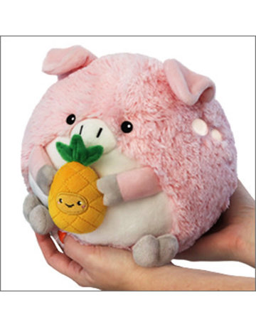 Squishable Mini Squishable Pig w/ Pineapple