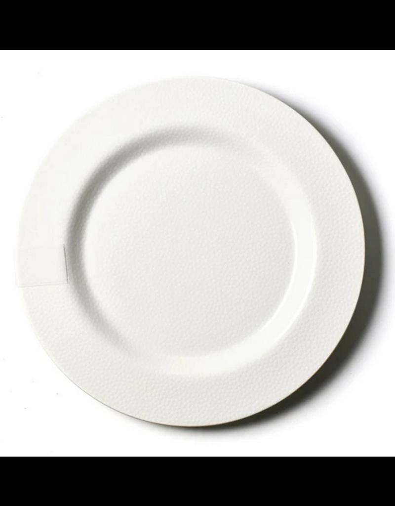 White Small Dot Entertaining Big Platter