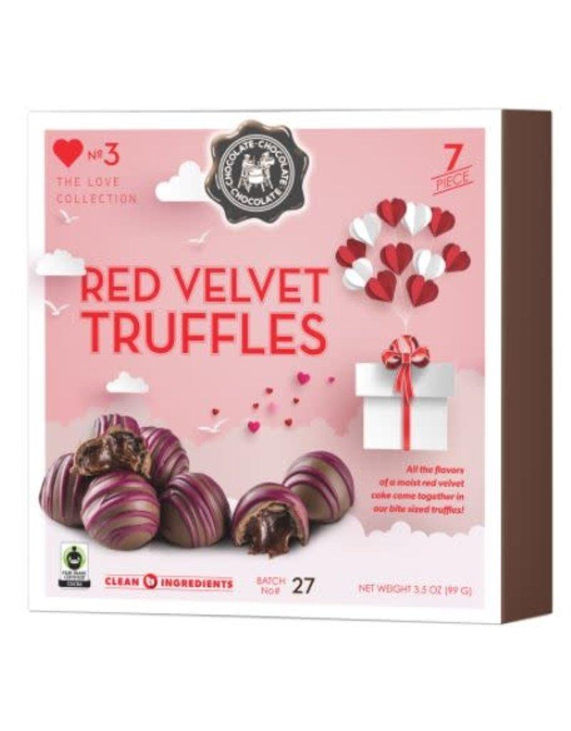 Red Velvet Truffles 7pc. Box