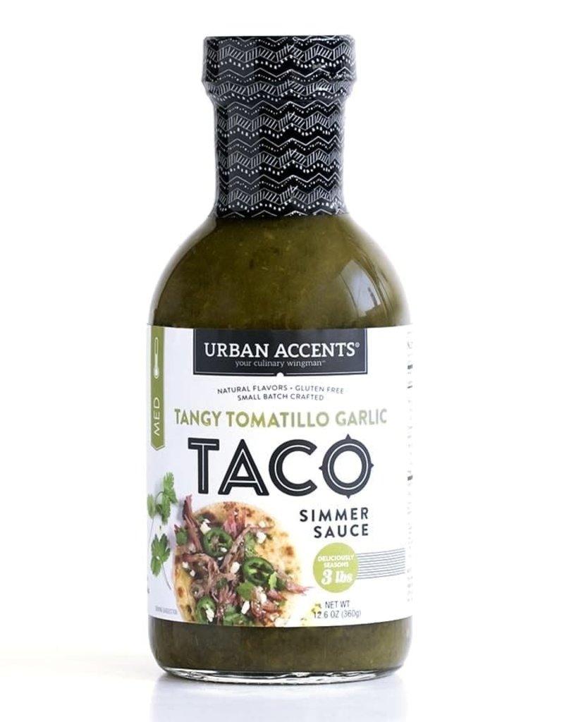 Tangy Tomatillo Taco Sauce