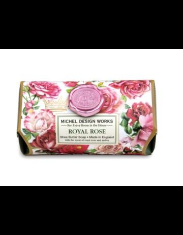 Michel Design Works Royal Rose Large Bath Soap Bar