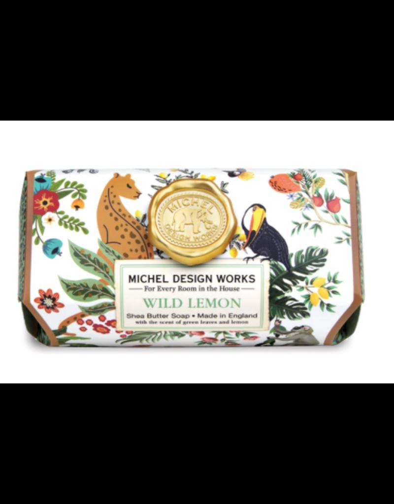 Michel Design Works Wild Lemon Large Bath Soap Bar
