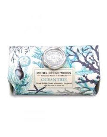 Michel Design Works Ocean Tide Large Bath Soap Bar
