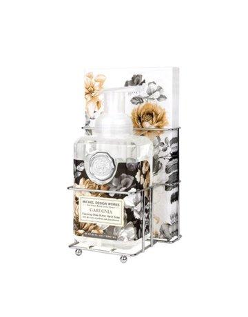 Michel Design Works Gardenia Foaming Soap And Hostess Napkin Holder