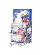 Michel Design Works Magnolia Foaming Soap And Hostess Napkin Holder