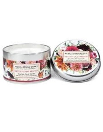 Michel Design Works Sweet Floral Melody Travel Candle