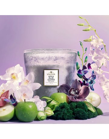 Apple Blue Clover 123oz. Hearth Candle