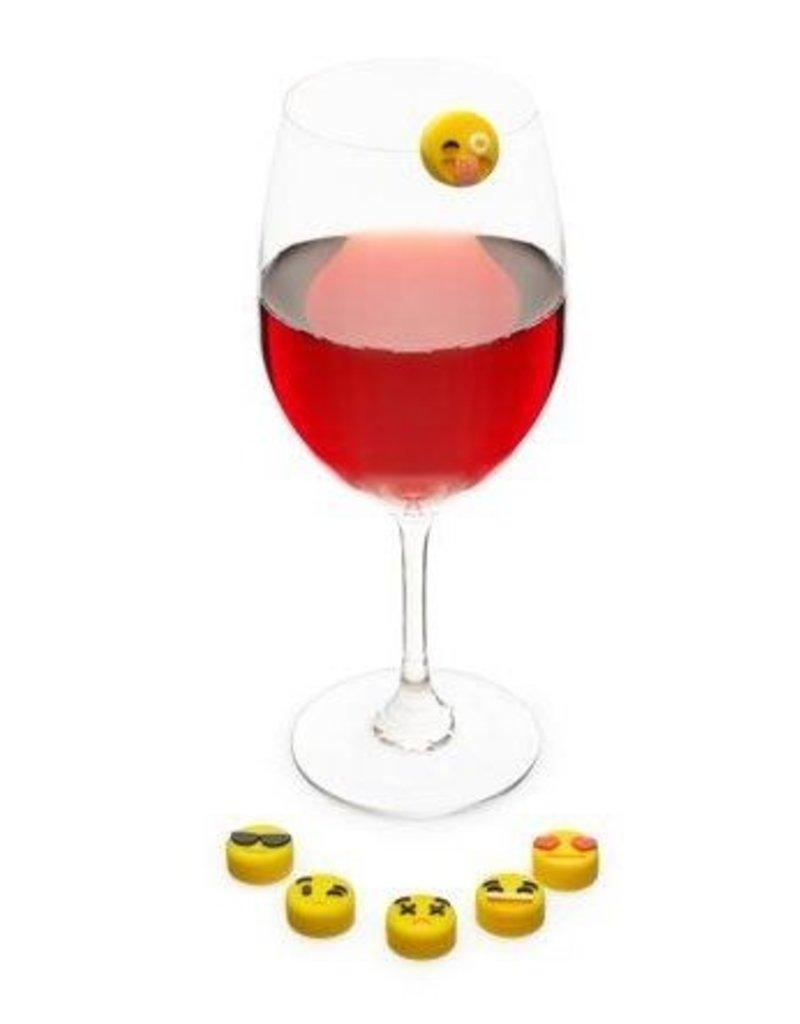 Emoji Drink Charms