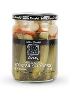 Tipsy Cocktail Stirrers- Dill