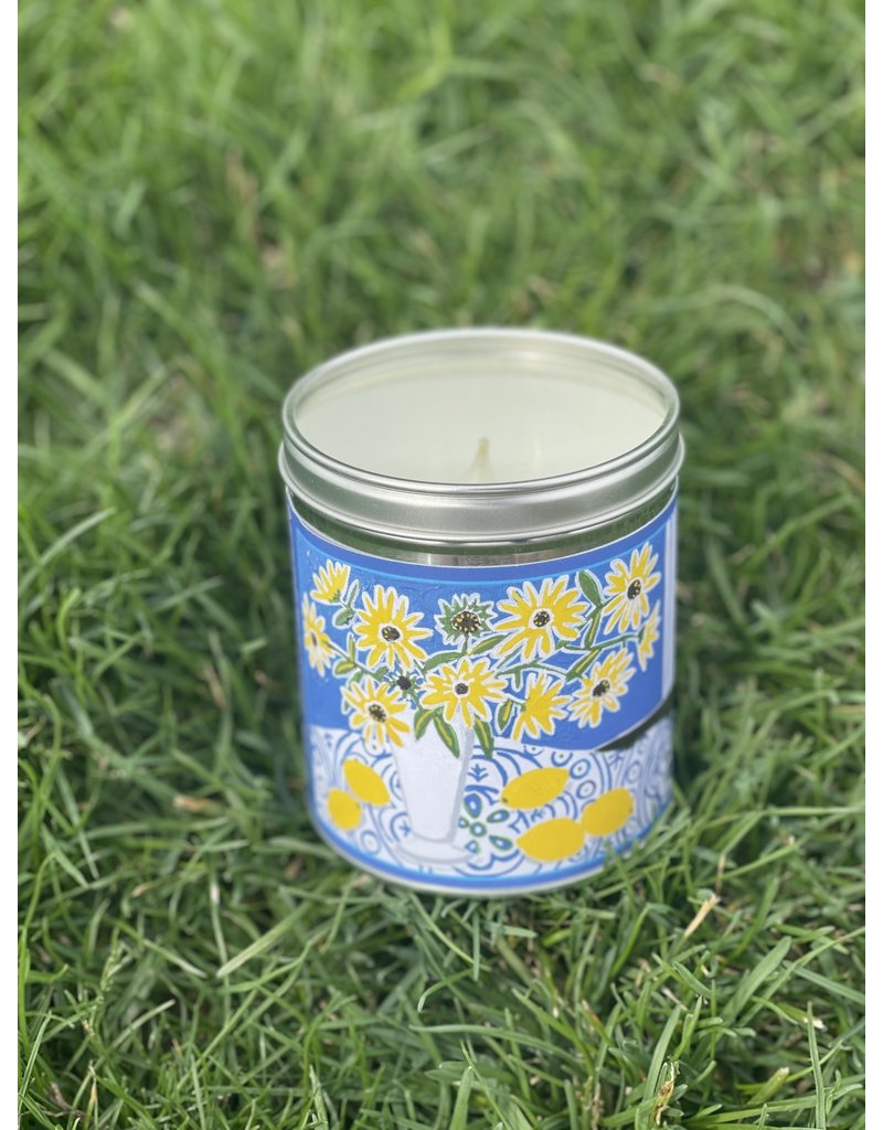 "Aunt Sadies Daisy & Lemons Candle ""Mandy Buchanan Design"""