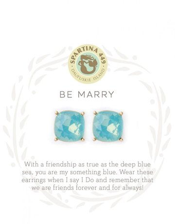 SLV Stud Earrings Be Marry SIL