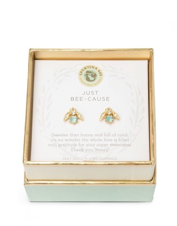 SLV Stud Earrings Just Bee-cause/Little Bee