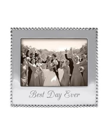 3911BD BEST DAY EVER  Beaded 5x7 Frame