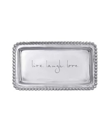 3905LL Live Love Laugh Statement Tray