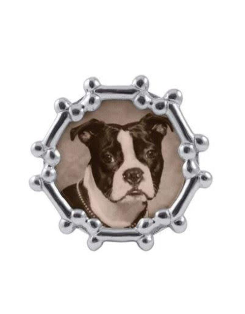 1407 Dog Bone Round Frame