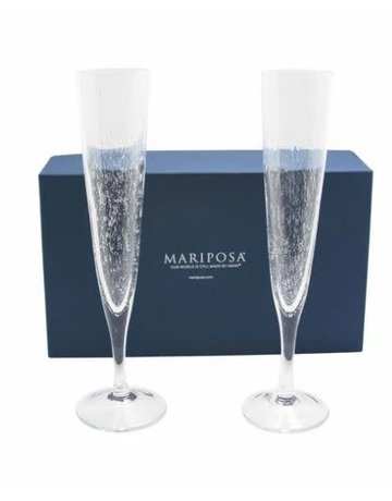 205GD Champagne Flute Pair