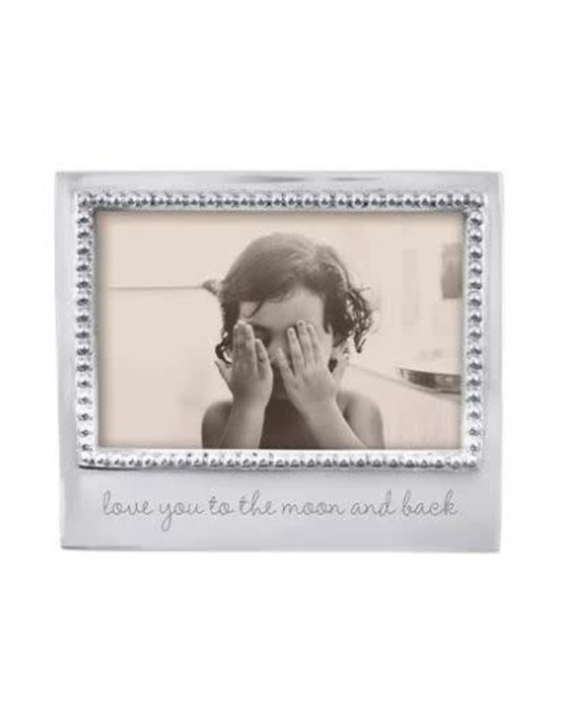 3906MN Love You to The Moon & Back Beaded 4x6 Frame