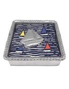 1680-C Sailboat (1921) Rope Napkin Box