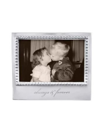 3906AF Always & Forever Beaded 4x6 Frame