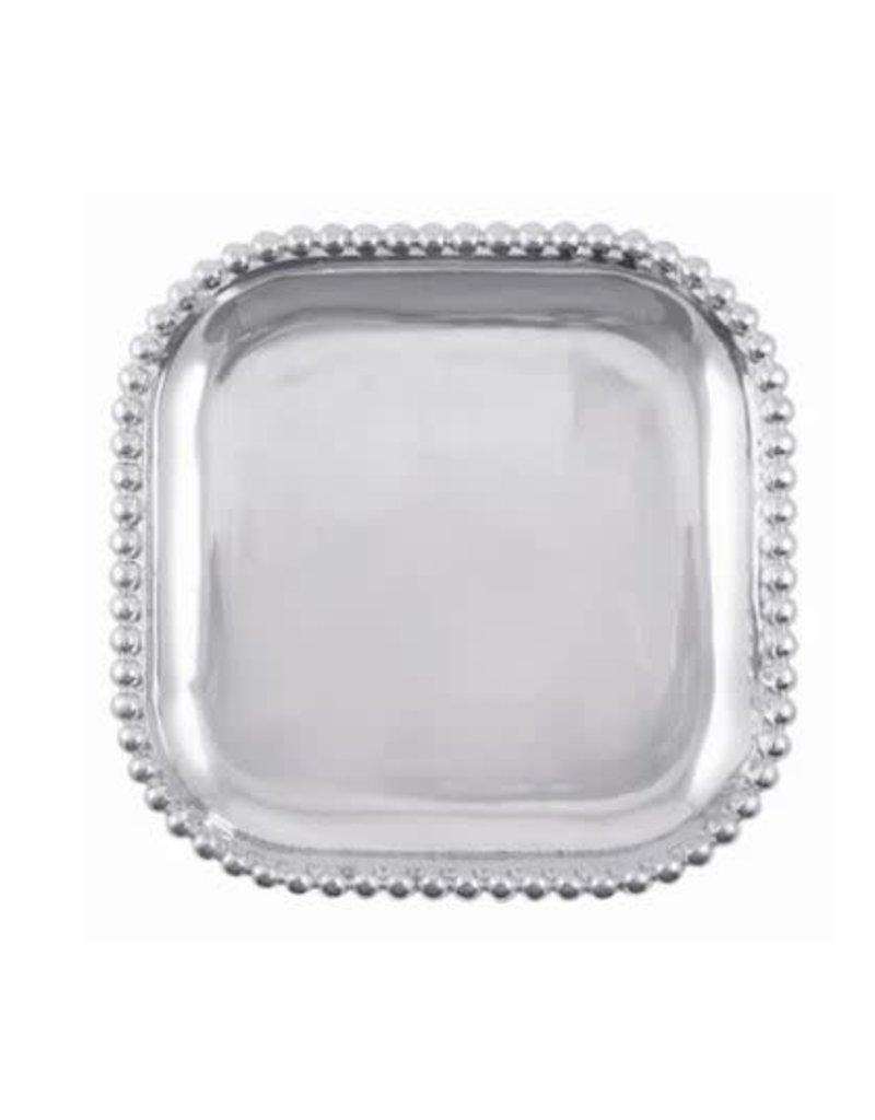 1145C Pearled Square Platter