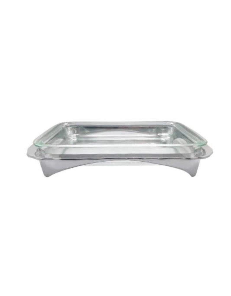 2479 Shimmer Oblong Casserole Caddy With 3-Quart Pyrex Insert