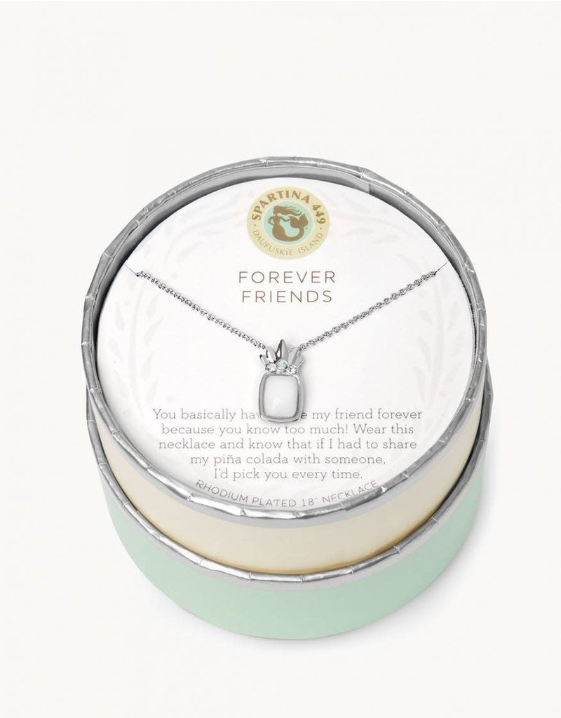 "SLV Celebrate Necklace 18"" Forever Friends/ Pina Colada SIL"
