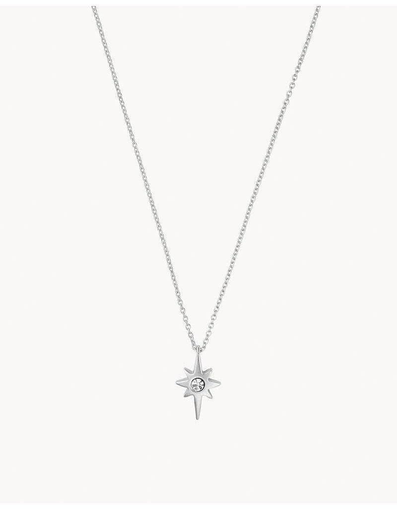 "SLV Necklace 18"" Celebrate  Superstar/Star SIL"