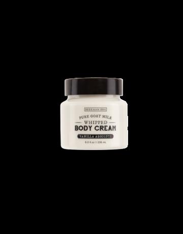 Beekman 1802 Vanilla Aabsolute Whipped Goat Milk Body Cream 8 oz.