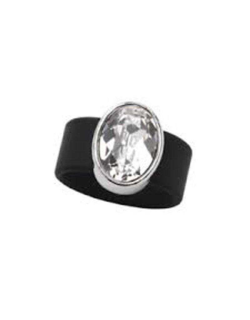 Swarovski Crystal Rubber Band Ring