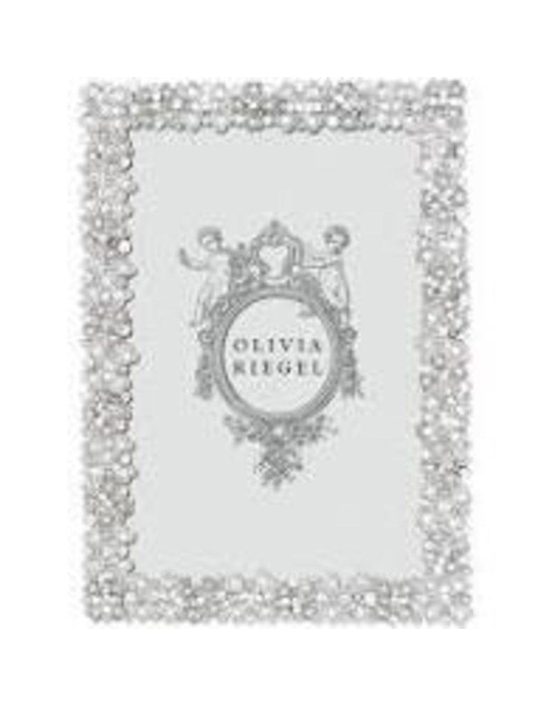 """Silver Evie 4"""" x 6"""" Frame"""