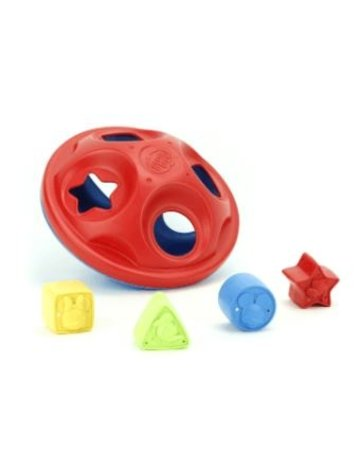 Green Toys Mickey Mouse & Friends Shape Sorter