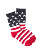 Womens Red Americano Socks