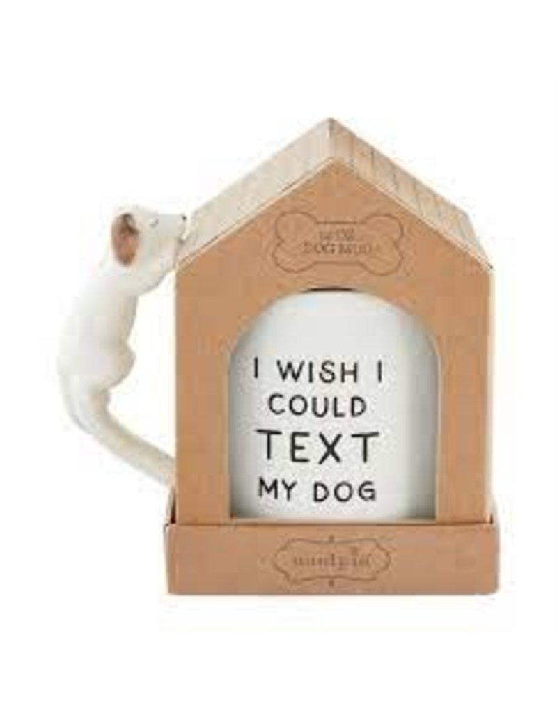 Mud Pie Wish Boxed Dog Mug