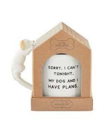 Mud Pie Sorry boxed dog mug