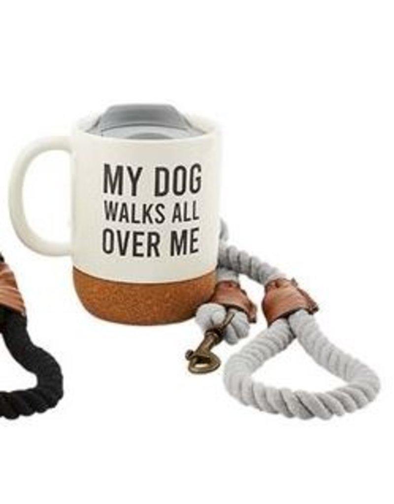 Mud Pie My Dog Leash Mug Set
