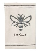 Mud Pie BEE LARGE KNOT TOWEL