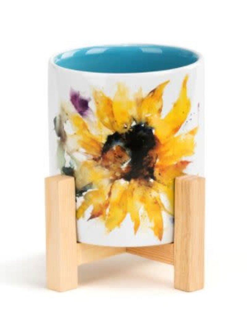 Sunflower Mini Planter