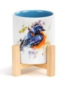 Bluebird Mini Planter